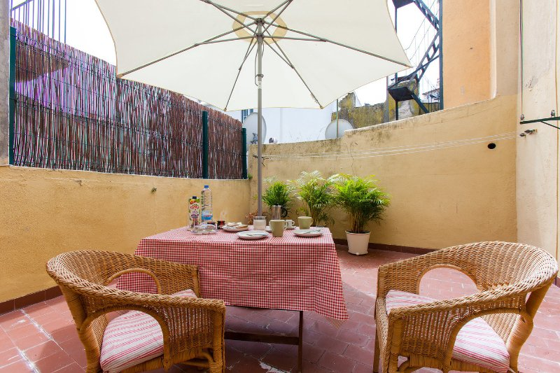 Terrace - Casa Castelo S. Jorge with private terrace - Lisbon - rentals