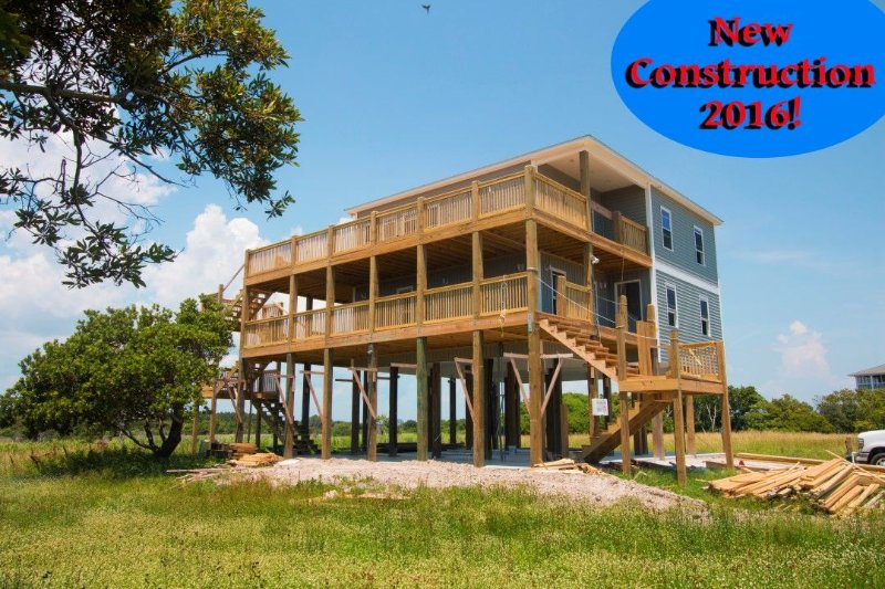 New for 2016! - Island Drive 3627 | New Construction 2016! Amazing views of ocean and sound. Easy Access to beach. - North Topsail Beach - rentals