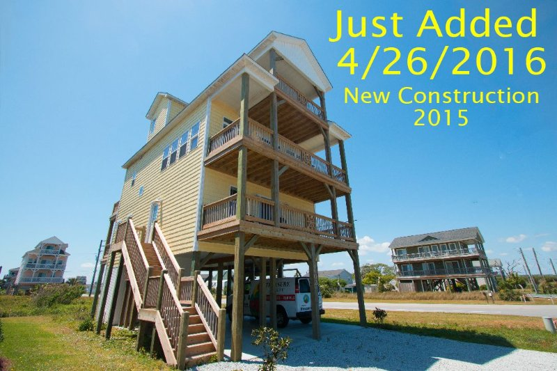 1st Year on Rental, New Construction - 3rd Avenue 8602 | Easy Beach Access  | New Construction 2015! Elevator - North Topsail Beach - rentals