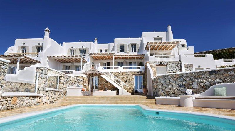Blue Villas | Ornos Gem | Luxury Villa Complex - Image 1 - Ornos - rentals