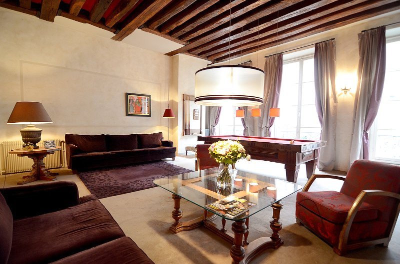 Spacious Elegant 2 BR Near the Seine & St. Germain - Image 1 - Paris - rentals