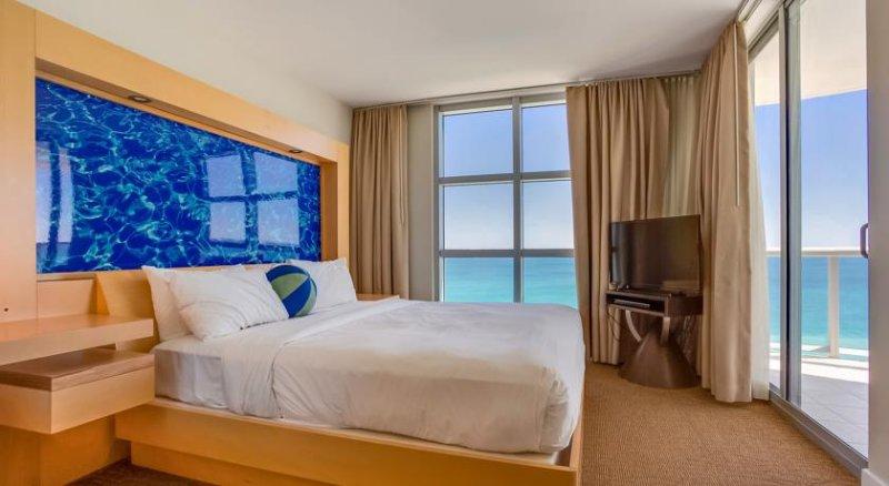 Master Bedroom  - 2BR Ocean Front Marenas Resort In SunnyIsles Beach - Sunny Isles Beach - rentals