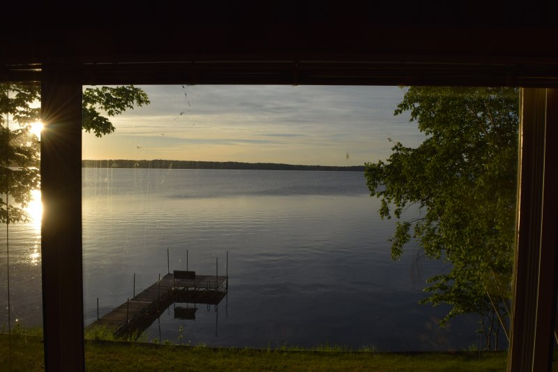 East living room view of Walker Bay - Leech Lake Walker Bay 3 Bedroom Home - Walker - rentals