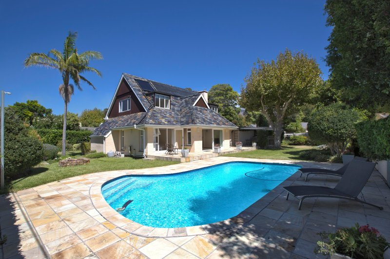 Villa Karibu - Perspective from Swimming Pool Site - Villa Karibu - Tokai - rentals