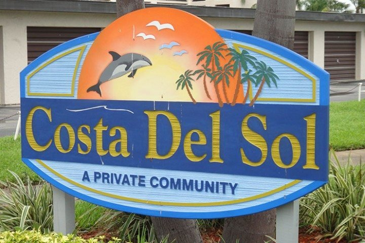 CDS-525-sign - 5807 N Atlantic Ave. #525 - Cape Canaveral - rentals