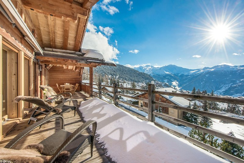 Le Daray Penthouse, Sleeps 9 - Image 1 - Bagnes - rentals