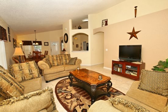 Quiet 4 Bedroom 3 Bathroom Pool Home in Highlands Reserve. 214GLEN - Image 1 - Davenport - rentals