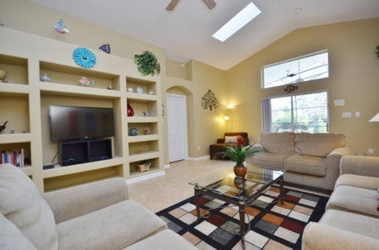 Five Star 5 Bedroom 4 Bath Pool Home in Orange Tree. 3154SHC - Image 1 - Clermont - rentals