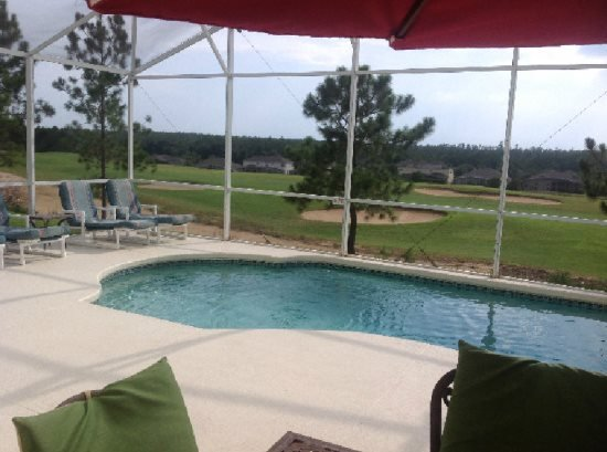Large 5 Bedroom 3 Bath Pool Home in Golfing Community. 405GD - Image 1 - Davenport - rentals