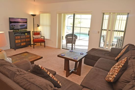 Gorgeous 5 Bedroom 3 Bath Pool Home in Legacy Park. 438CD - Image 1 - Davenport - rentals