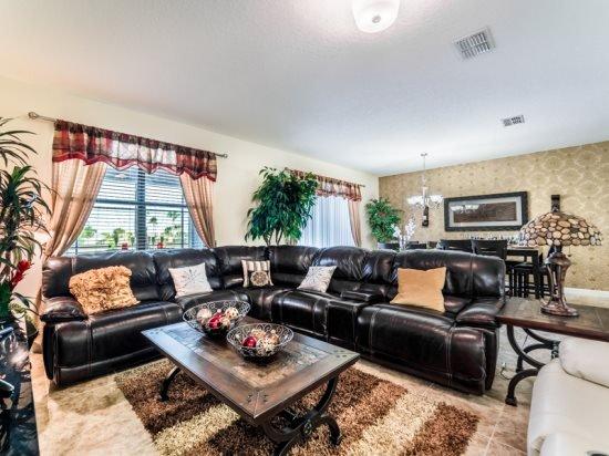 Amazing 9 Bedroom 5 Bath Pool Home in ChampionsGate Golf Resort. 1405WW - Image 1 - Loughman - rentals