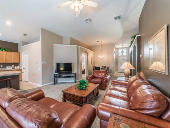 Immaculate 4 Bedroom 3 Bath Pool Home in Windsor Palms Resort. 8134SPD - Image 1 - Four Corners - rentals