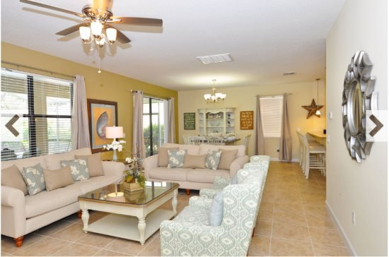 5 Bedroom 4.5 Bath Pool Home in ChampionsGate Resort. 1452MVD - Image 1 - Loughman - rentals