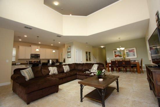 Luxury 5 Bedroom Pool Home in Paradise Palms Resort. 2914BPR - Image 1 - Four Corners - rentals