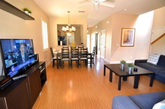 Upgraded 4 Bedroom 3.5 Bath Town Home in Regal Palms Resort.3602CA - Image 1 - Davenport - rentals