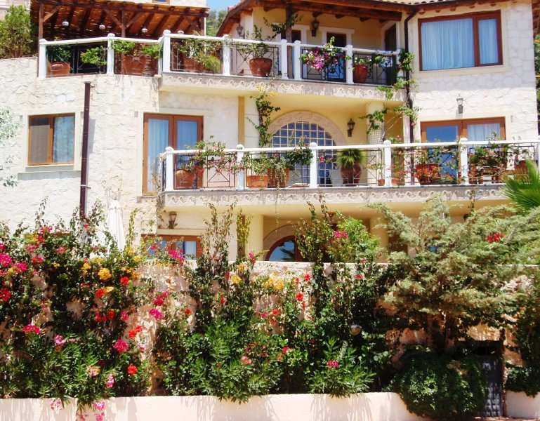 Villa exterior - Award Winning Villa Barinak Has It All - Sleeps 6 - Kalkan - rentals