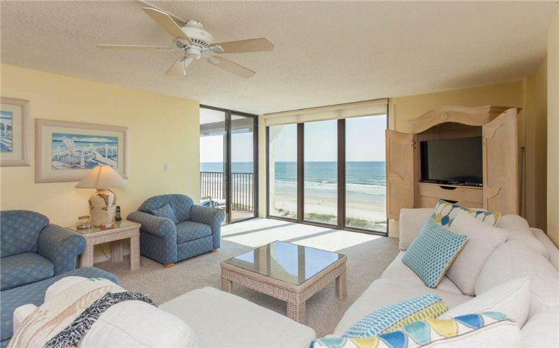 Sand Dollar I 504, 3 Bedrooms, Ocean Front, Pool, Sleeps 6 - Image 1 - Saint Augustine - rentals