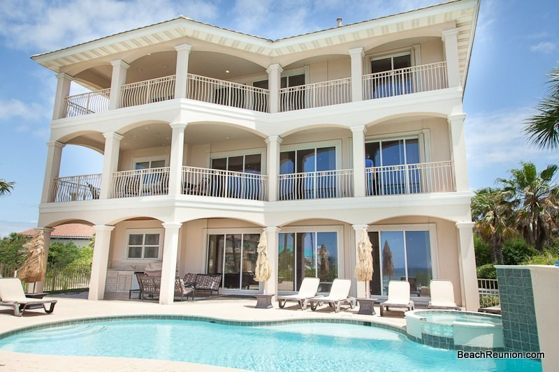 Over The Top: 5 Bdrm, Gulf View, Private Pool, Game Room - Image 1 - Destin - rentals