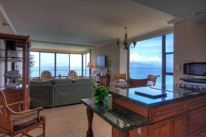 Maui Kai #808, 1Bdroom corner, Best in Building - Image 1 - Lahaina - rentals