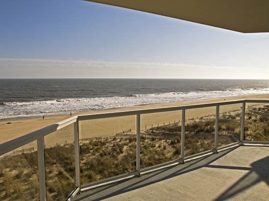 Direct Ocean View from Meridian 501 - Meridian 501E - Luxury Oceanfront w/ Pool! - Ocean City - rentals