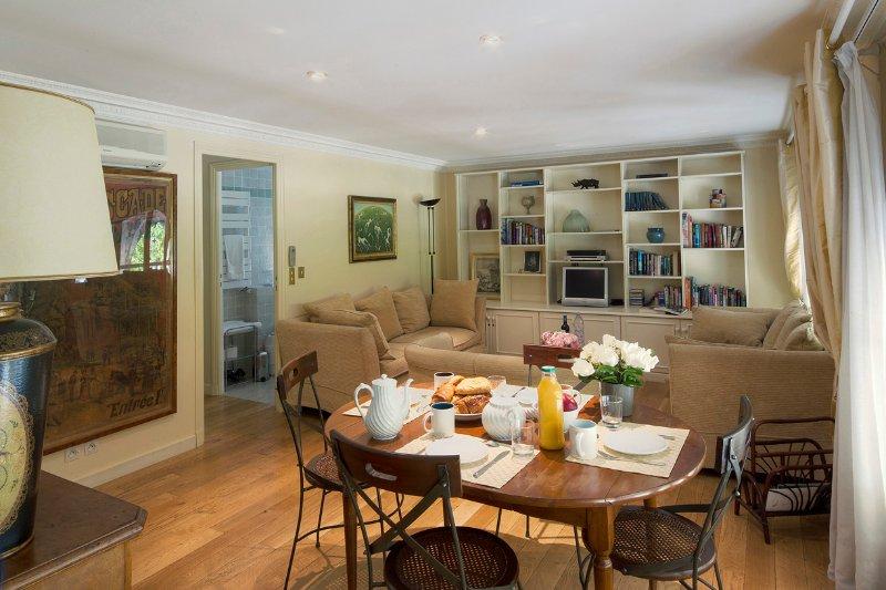 Living Room View Three  - Palais Royal Elegant Two Bedroom - Paris - rentals