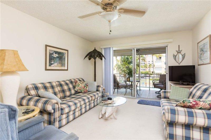 Leonardo Arms 207, 1 Bedroom, Gulf Front Condo, Heated Pool, WiFi, Sleeps 4 - Image 1 - Fort Myers Beach - rentals