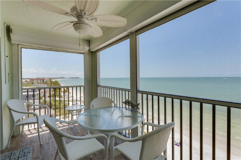 Strandview Tower 701, 2 Bedrooms, Beach Front, Pool, Elevator, Sleeps 4 - Image 1 - Fort Myers Beach - rentals
