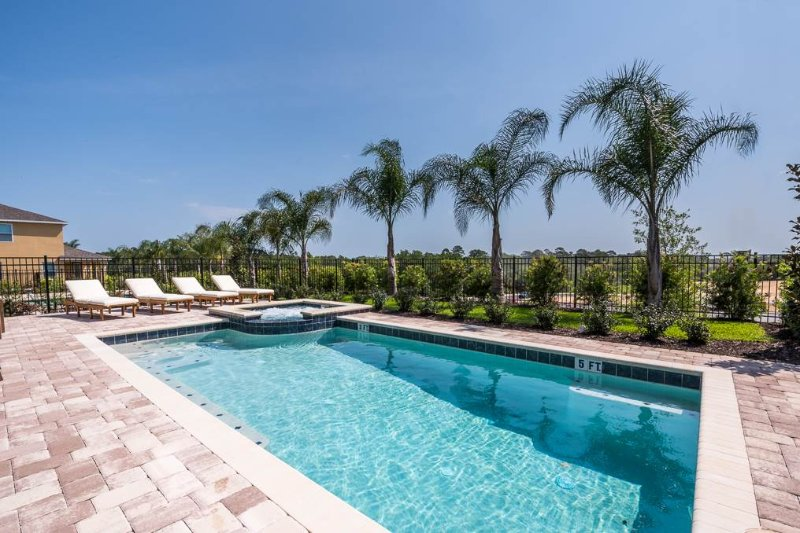 Reunion Adventure, 6 Bedrooms, Encore Club, Private Pool, Spa, Sleeps 14 - Image 1 - Kissimmee - rentals
