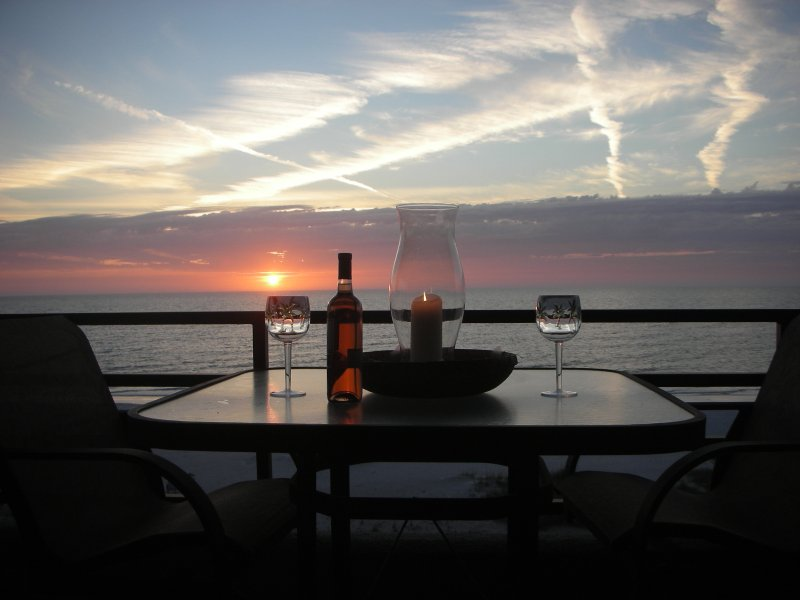 The only thing we overlook is the Gulf of Mexico! - Upscale Desirable Direct Gulf Front Escape - Indian Rocks Beach - rentals