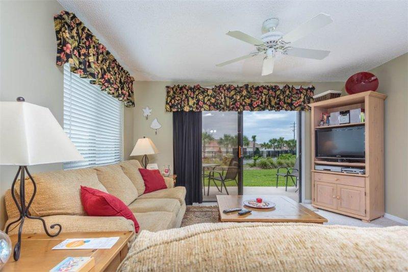 Ocean Village Club E12, Ground Floor, pools, tennis & beach, St Augustine B - Image 1 - Saint Augustine - rentals