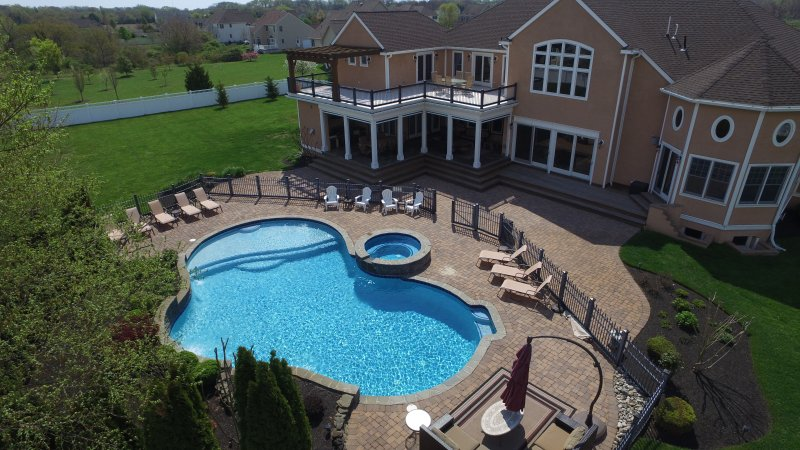 Beautiful, Private Yard. Pool, Huge Playground,Outdoor Kitchen, Cape May Beaches - Exuding Luxury...Cape May Beaches, In-Ground Pool - Cape May - rentals