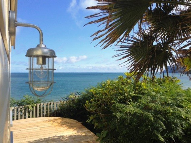 Panoramic Sea View, Secluded, Long Sunsets, Romantic, Beach Chic & Dog Friendly - Image 1 - Nefyn - rentals
