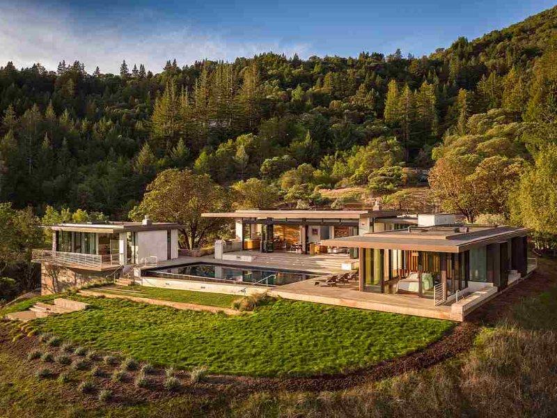 Magnificent, modern, hillside Estate - DreamHouse at W. Dry Creek - Healdsburg - rentals