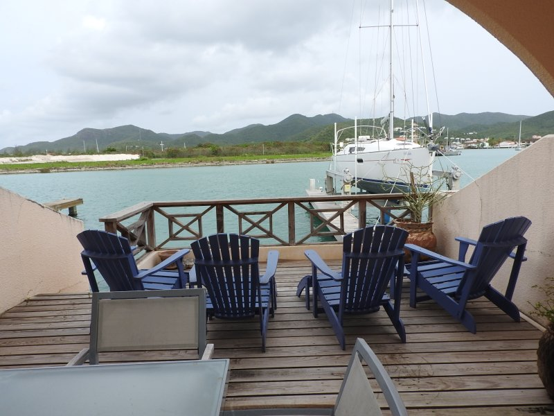 View from patio - Villa 426C - Jolly Harbour, Antigua - Jolly Harbour - rentals
