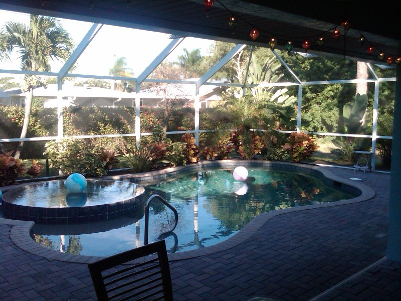 Pool and Hot Tub in the Winter Time is So Divine! - Image 1 - Naples - rentals