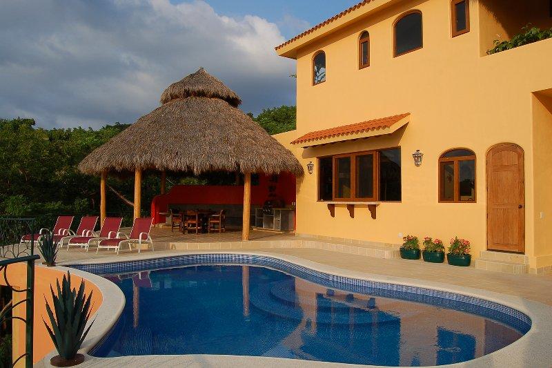 Ocean view pool terrace - Casa Colibrí - Ocean View! - San Pancho - San Pancho - rentals