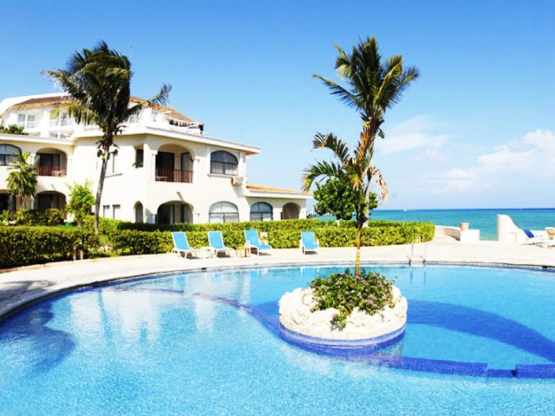 AMAZING BEACHFRONT XAMAN HA 3 BEDROOMS - Image 1 - Playa del Carmen - rentals