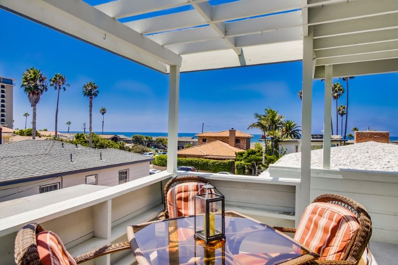 VIEW Beach Home Steps to OCEAN!!! - Image 1 - Pacific Beach - rentals