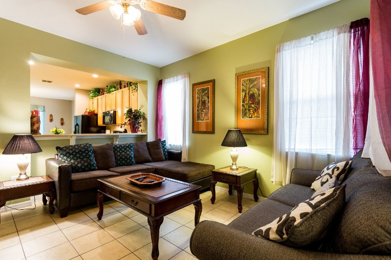 Living Room - Newly furnished close to Disney large 3 bedroom - Kissimmee - rentals