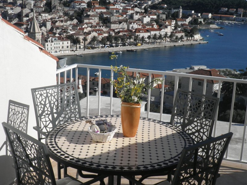 "view from terass - Apartment ""Hvar at hand"" - Hvar - rentals"