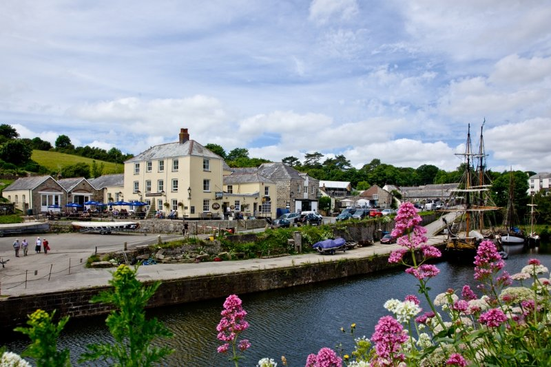 3 Waterwheel Apartments located in Charlestown, Cornwall - Image 1 - Saint Austell - rentals