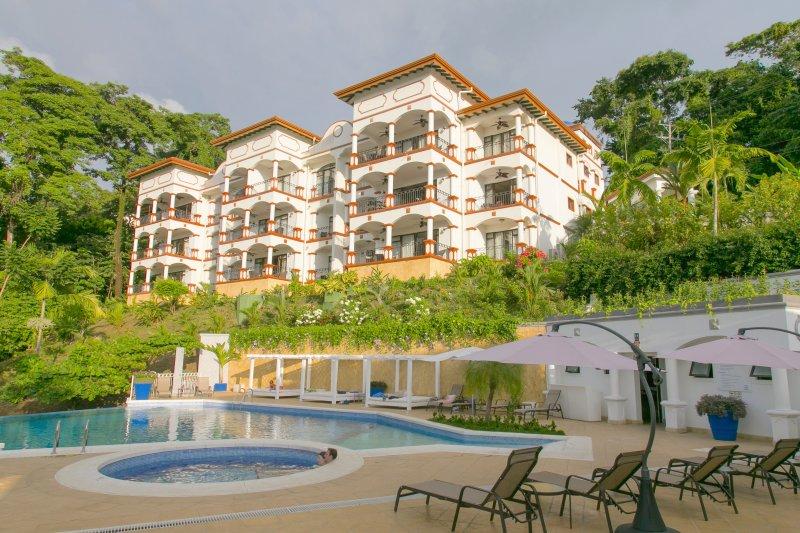 Shana Residences (#331 is on upper left) - Shana Residences 3Br: Sea-Views & Walk-to-Beach! - Manuel Antonio - rentals