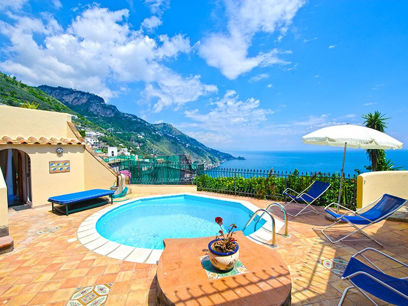 Praiano - Amalfi coast villa 4 bedrooms with pool - Image 1 - Praiano - rentals