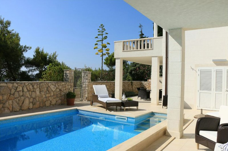 Luxury villa with pool near the sea in Primosten - Image 1 - Primosten - rentals
