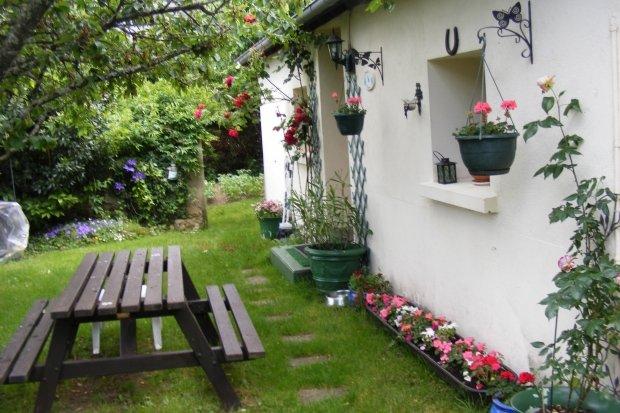 Jardin de gîte - Maison Fleurie,rural gîte,Argenton sur Creuse - Argenton-sur-Creuse - rentals