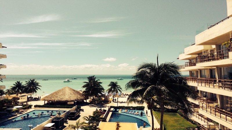 View from Ixchel 401 - Ixchel Beach Hotel # 401 - Isla Mujeres - rentals