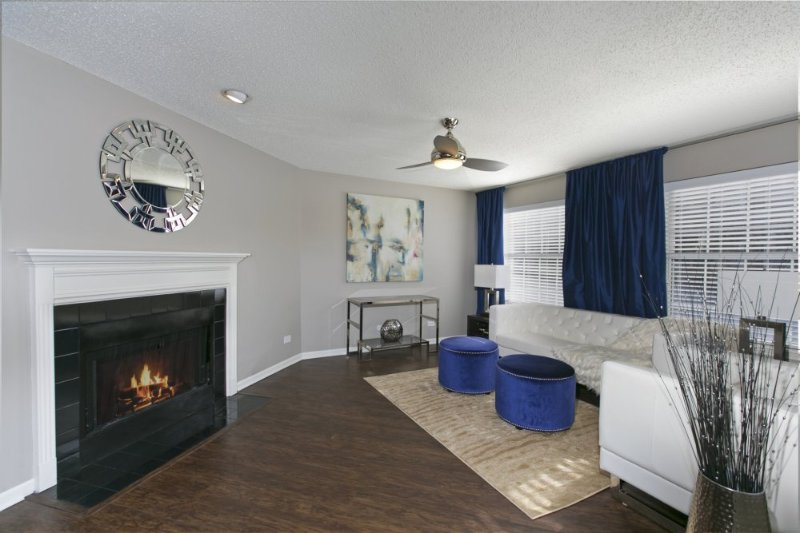 Furnished 1-Bedroom Apartment at Gowdey Rd & Ontario Ave Naperville - Image 1 - Naperville - rentals