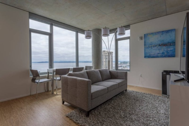 Ultra-Modern Downtown 1 BD with Stunning Views 3 - Image 1 - Seattle - rentals