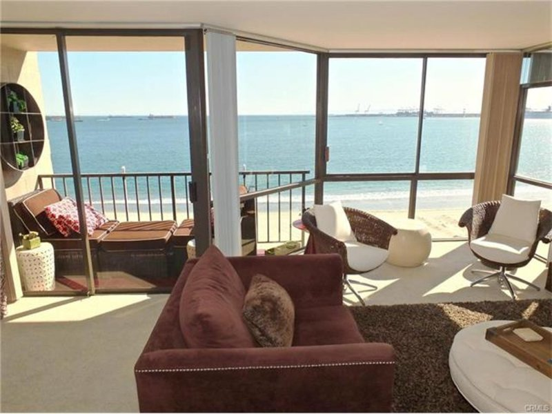 Furnished 1-Bedroom Condo at E Ocean Blvd & S 13th Pl Long Beach - Image 1 - Belmont Shore - rentals