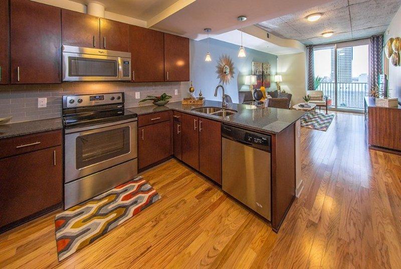 Furnished 1-Bedroom Apartment at Main St & Leeland St Houston - Image 1 - Houston - rentals